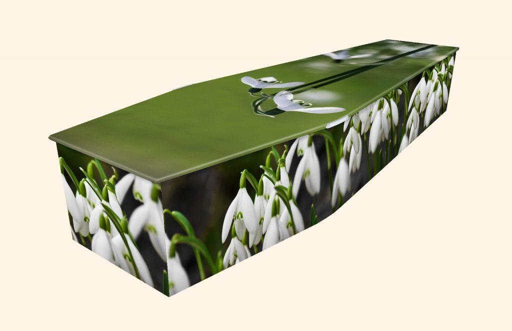 My Little Snowdrop Picture Coffin